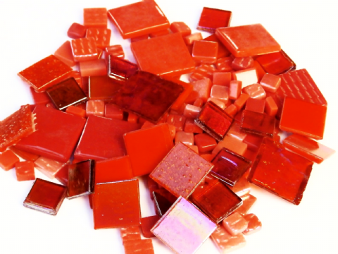 Square Mix - Red - 200g